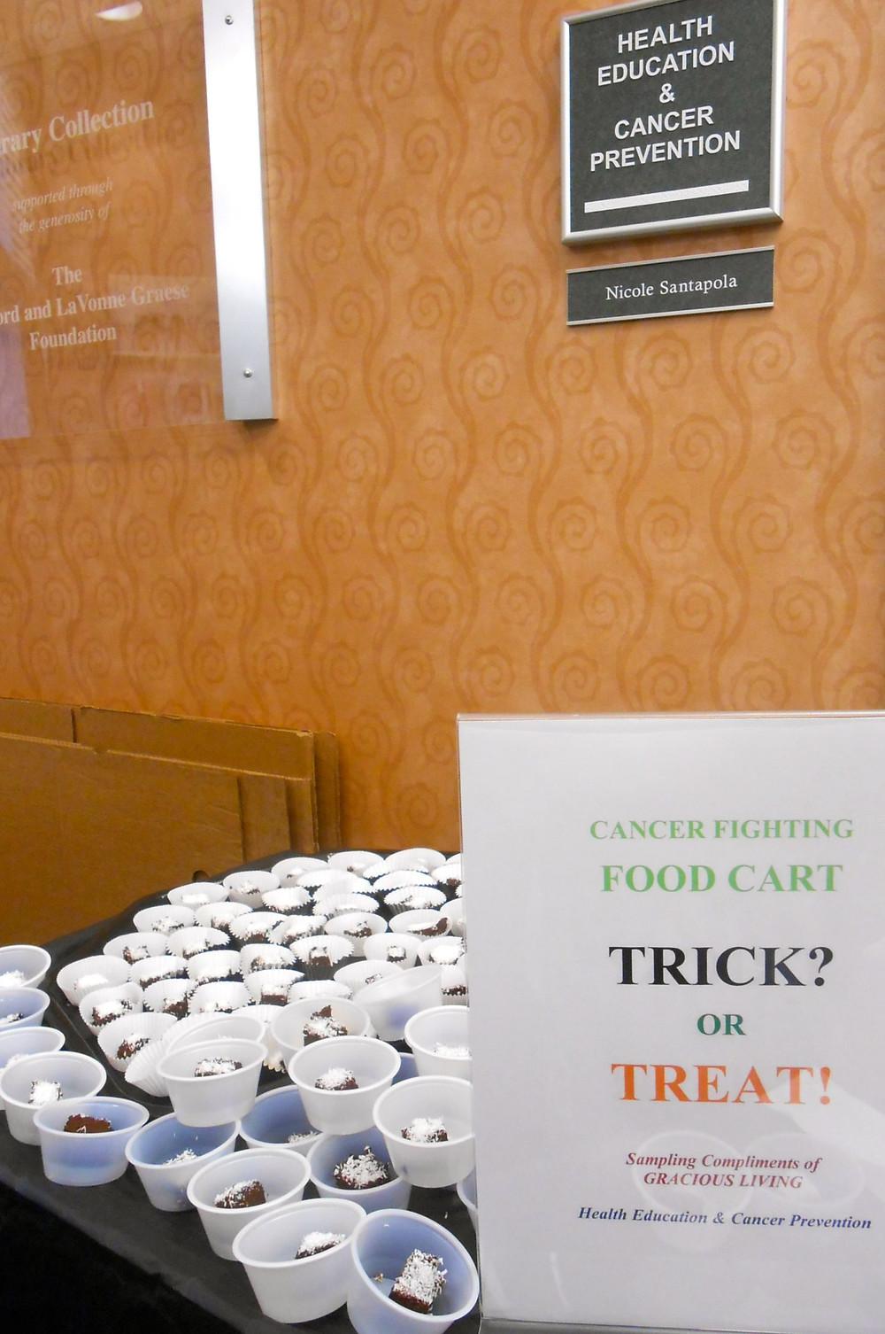 Grace Van Berkum-MD Anderson Cancer Centre-Gracious Living raw, vegan chocolates