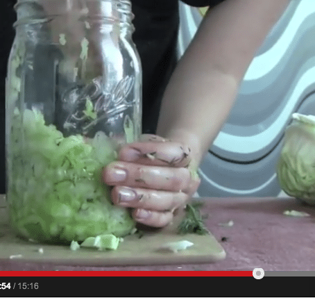 Gracious Living Recipe Tutorial: Easy Sauerkraut for Digestion