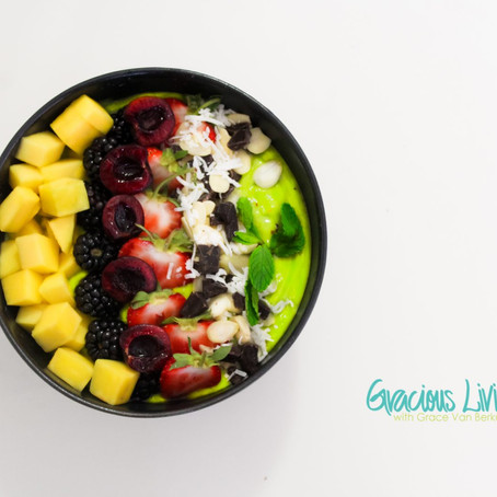 GLO Protein Superfood Smoothie Bowls