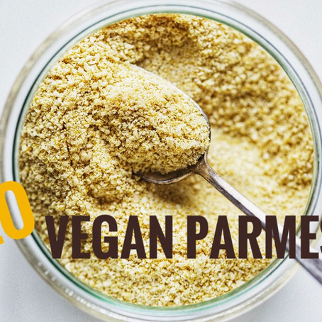 GLO Vegan Parmesan (2 min. recipe)