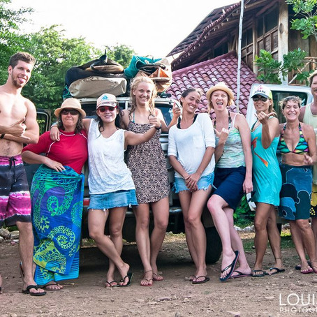 "Gracious Living Yoga Surf Retreats in ""Wanderlust & Lipstick"" Travel Site"