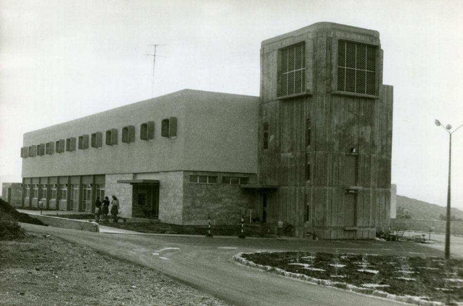 הבנין המרכזי הראשון של המלון 1973