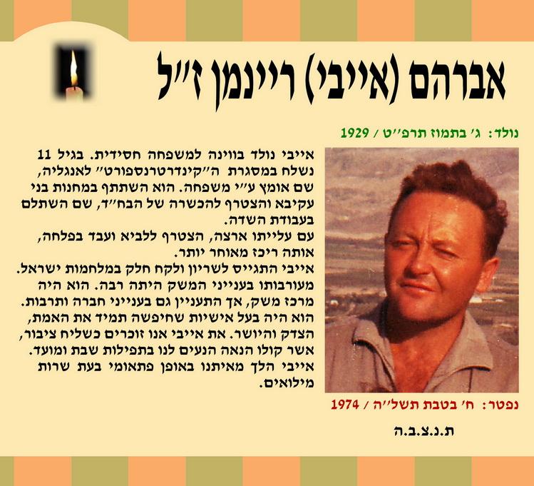 אברהם (אייבי) ריינמן