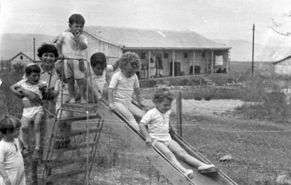 מגלשה לילדים 1958