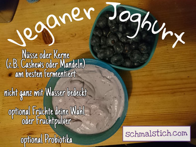 Veganer Joghurt