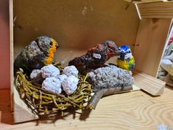 Vogelgezwitscher und Eiersuche