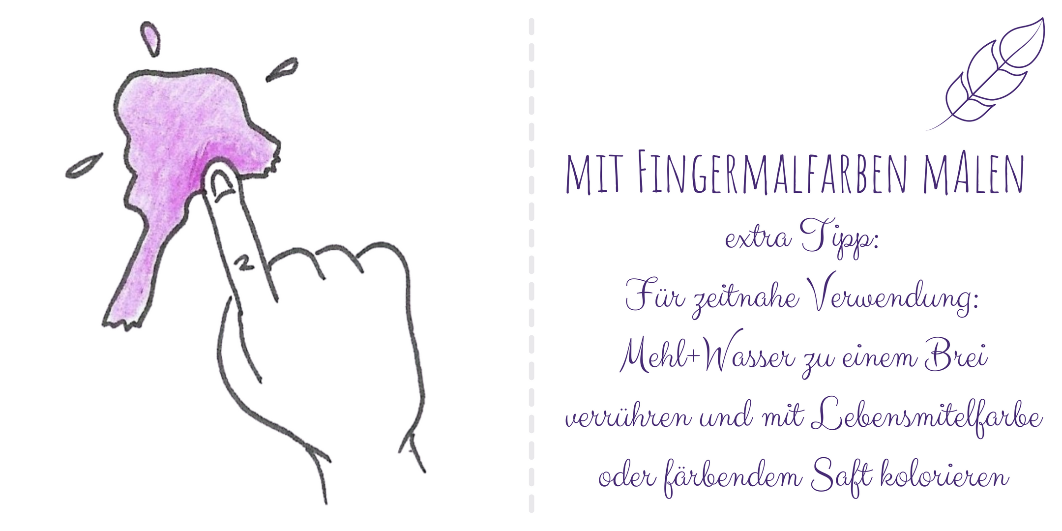 Fingermalfarbe
