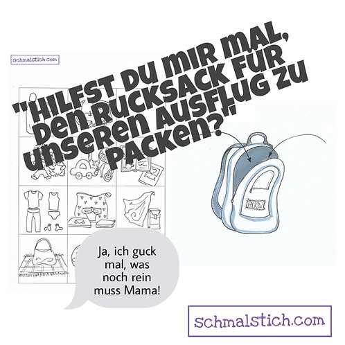 Pack Rucksack packen
