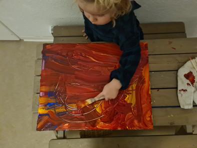 Einfache Kreativ-Ideen   Kunstkinder