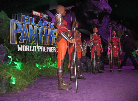 Behind the Scenes at Marvel's 'Black Panther' Movie World Premier