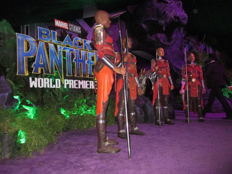 Behind the Scenes at Marvel's 'Black Panther' Movie World Premier