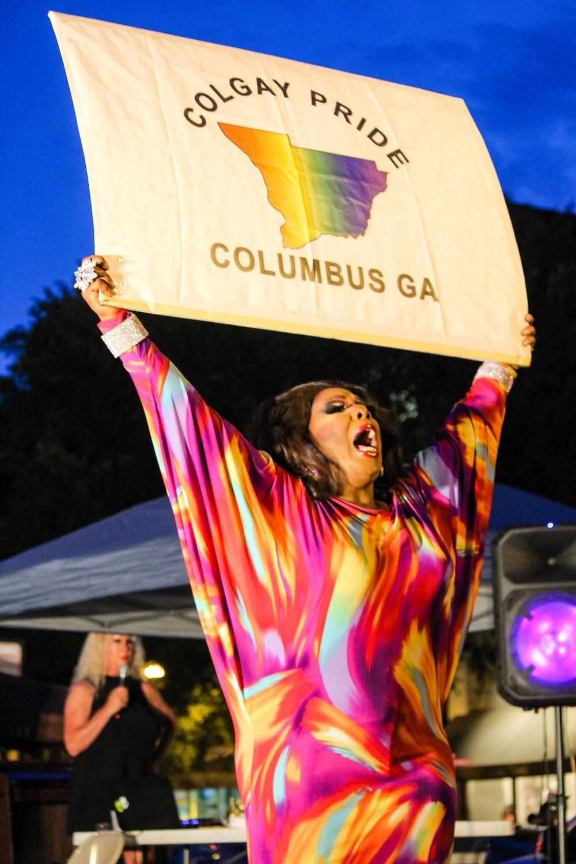 Ms. Columbus Georgia Pride Queen 2017
