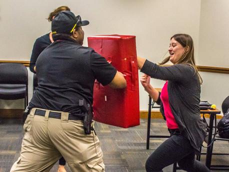 Defending Yourself: CSU  Police Offers Self-defense Classes