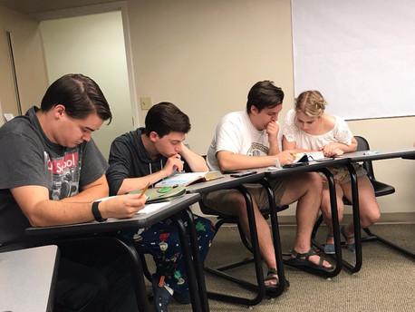 Acts of Faith: CSU theater majors create Bible study group
