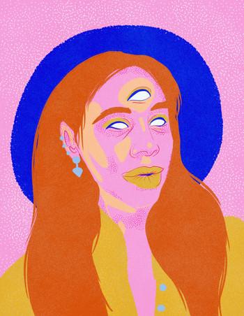 3-Eyed Woman