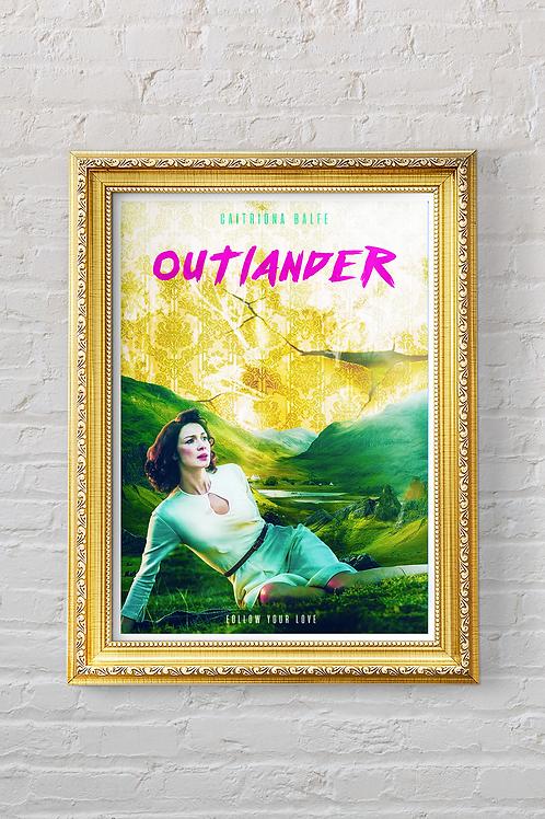 OUTLANDER, CLAIRE Print