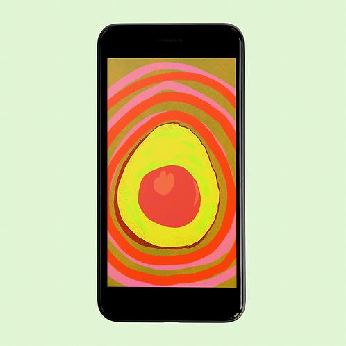 AVOCADO Phone Wallpaper Download