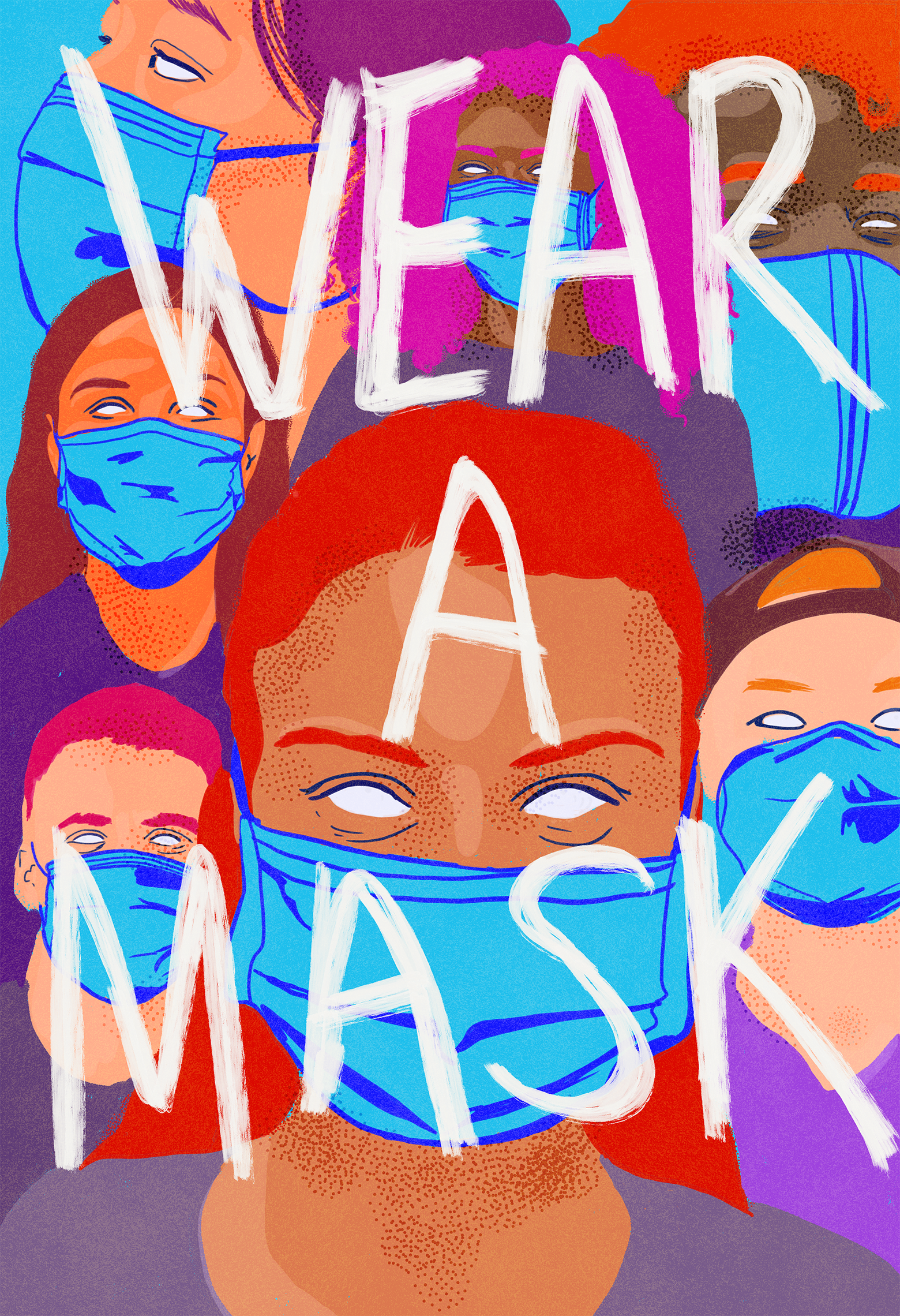 Mask Text Web