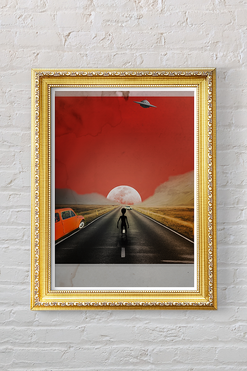 THE ROAD TO NOWHERE Print