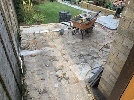 Allestree | Slabbed Patio & Resin Driveway