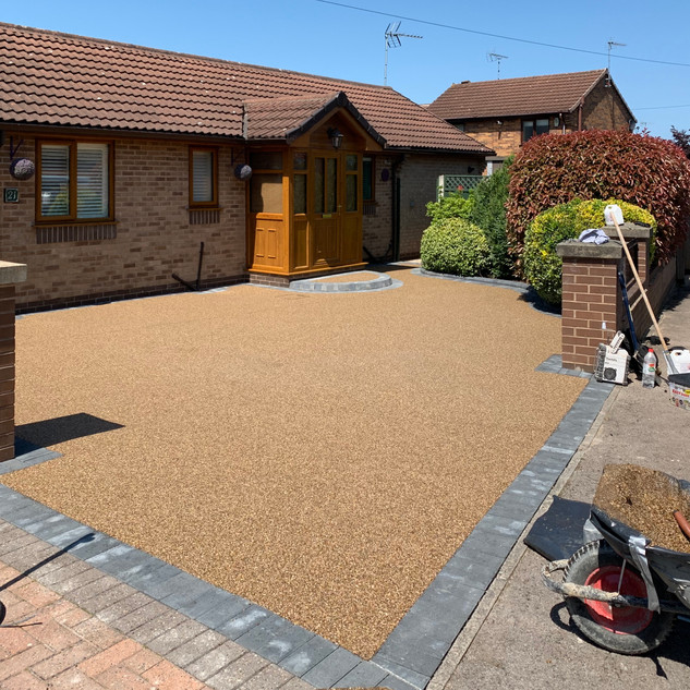 Heanor, Resin Bound