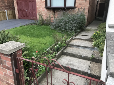 Front Garden Modifications | Littleover Village