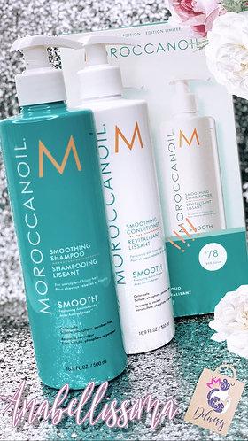 Moroccanoil Smothing set (shampoo y acondicionador )