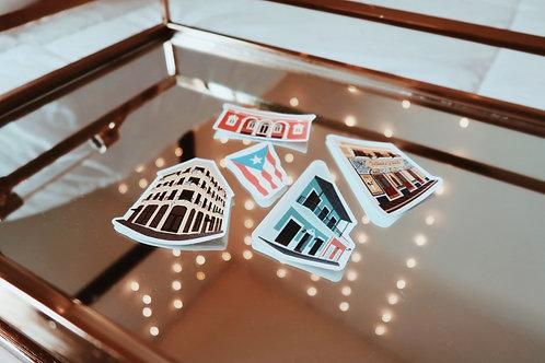 Puerto Rico 2021 Sticker Bundle - Pre Order!