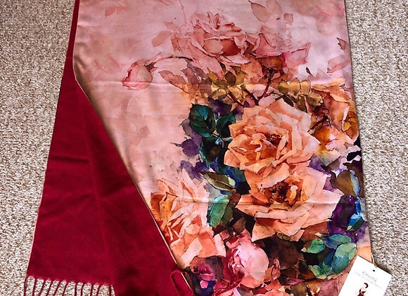 Hand Painted Stole