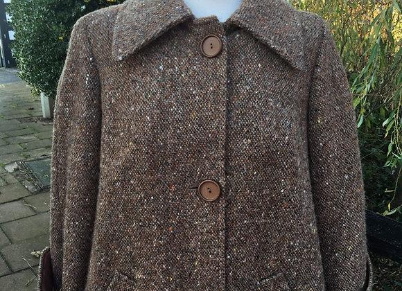 Irish Tweed Swing Coat