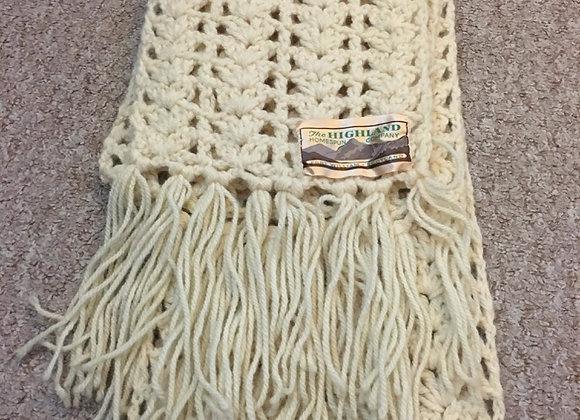 Arran Knit Scarf