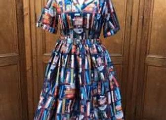New Book Print Dress
