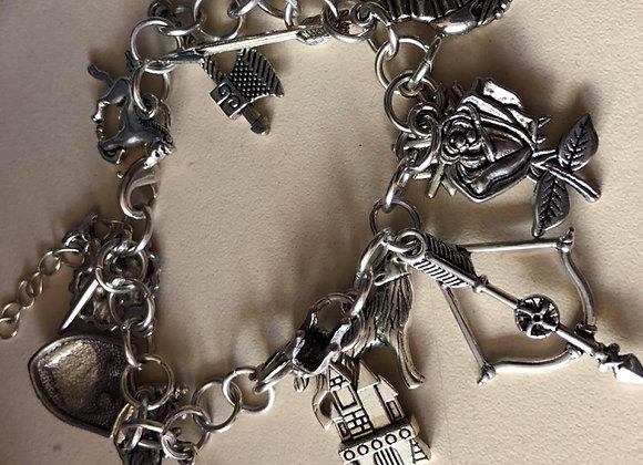 New Game of Thrones Charm Bracelet