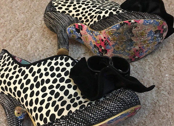 Animal Print/Tweed Shoes