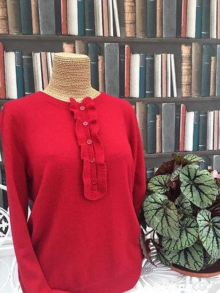 Poppy Red Sweater