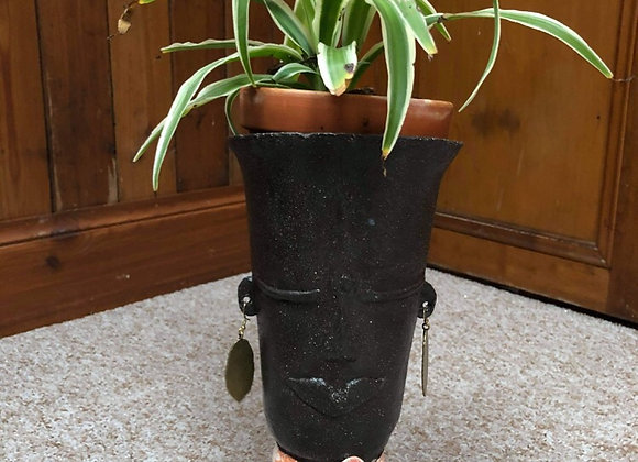 Large Artrox Face Plant Pot