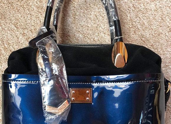 New Two Tone Handbag