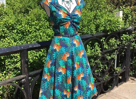 New Tiger Print Dress