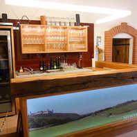 Weinverkostungsraum Weingut Rethaller
