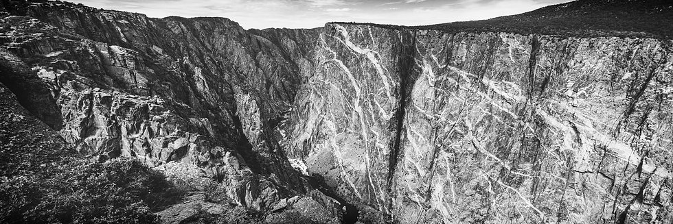 Black Canyon of the Gunnison - Painted Wall