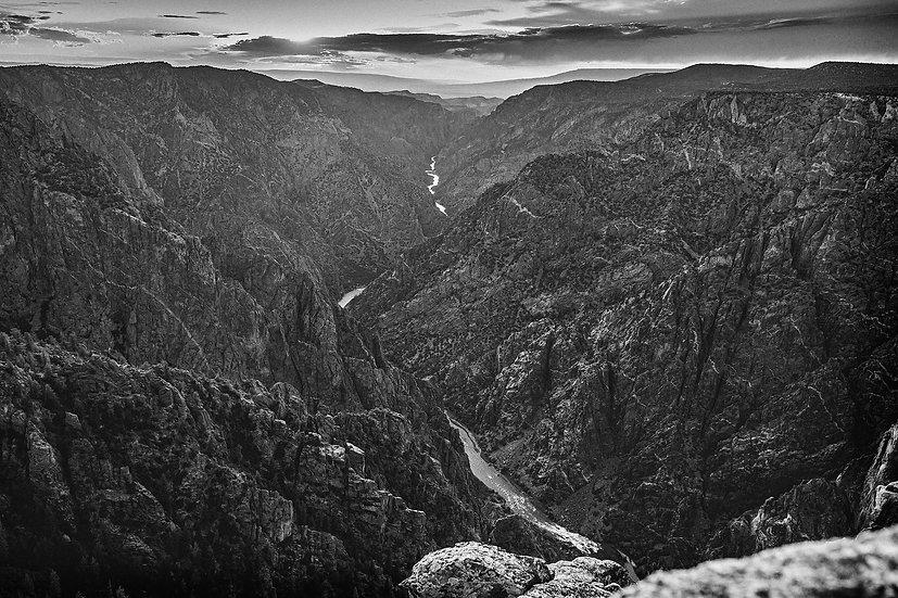 Gunnison River at Black Canyon National Park