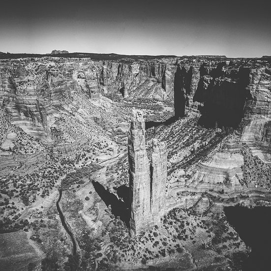 Spider Rock -- Canyon de Chelly National Monument