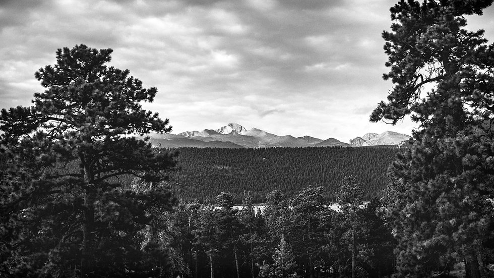 Longs Peak at Rocky Mountain National Park