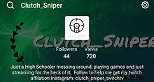 clutch sniper ttv