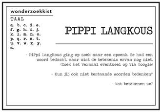 verwonderkaart Pipi