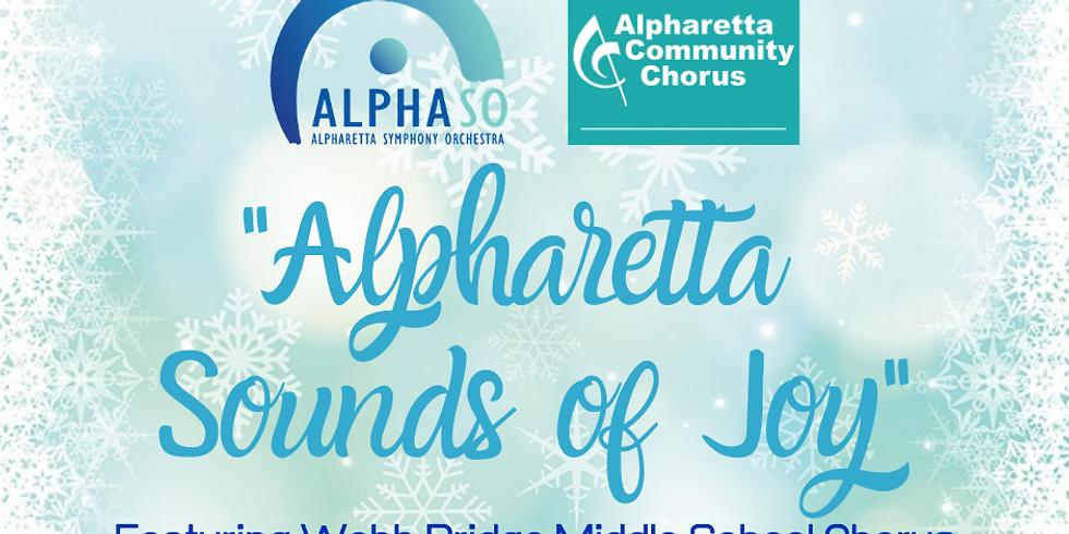 Alpharetta Community Chorus and AlphaSO Holiday Concert:  3:00PM Event