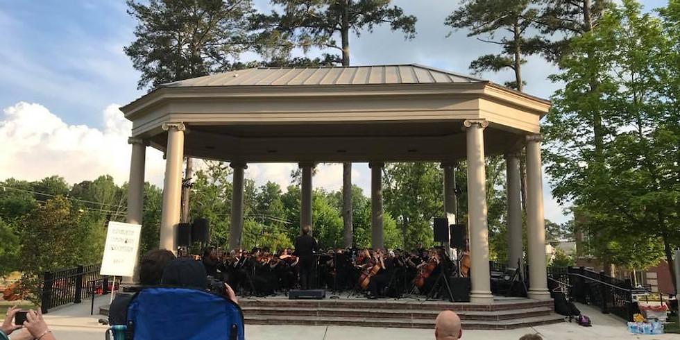 Concert at Brooke Street Park