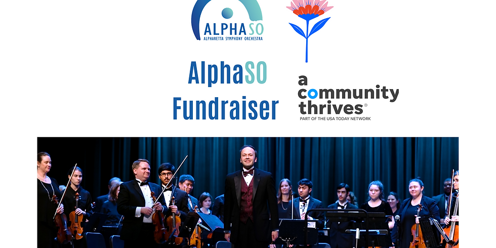 A Community Thrives AlphasSO Fundraiser