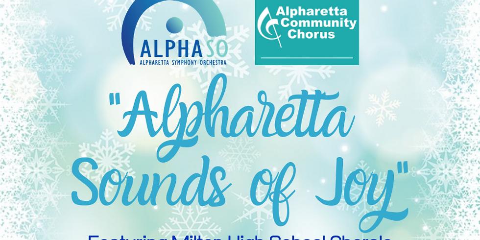 Alpharetta Community Chorus and AlphaSO Holiday Concert:  7:00PM Event