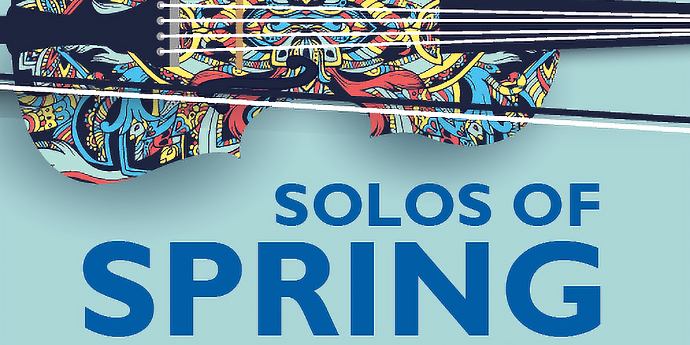 """""""Solos of Spring"""" Youth Concerto Competition Concert"""